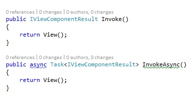 Comparing Tag Helpers with View Components | Cazton